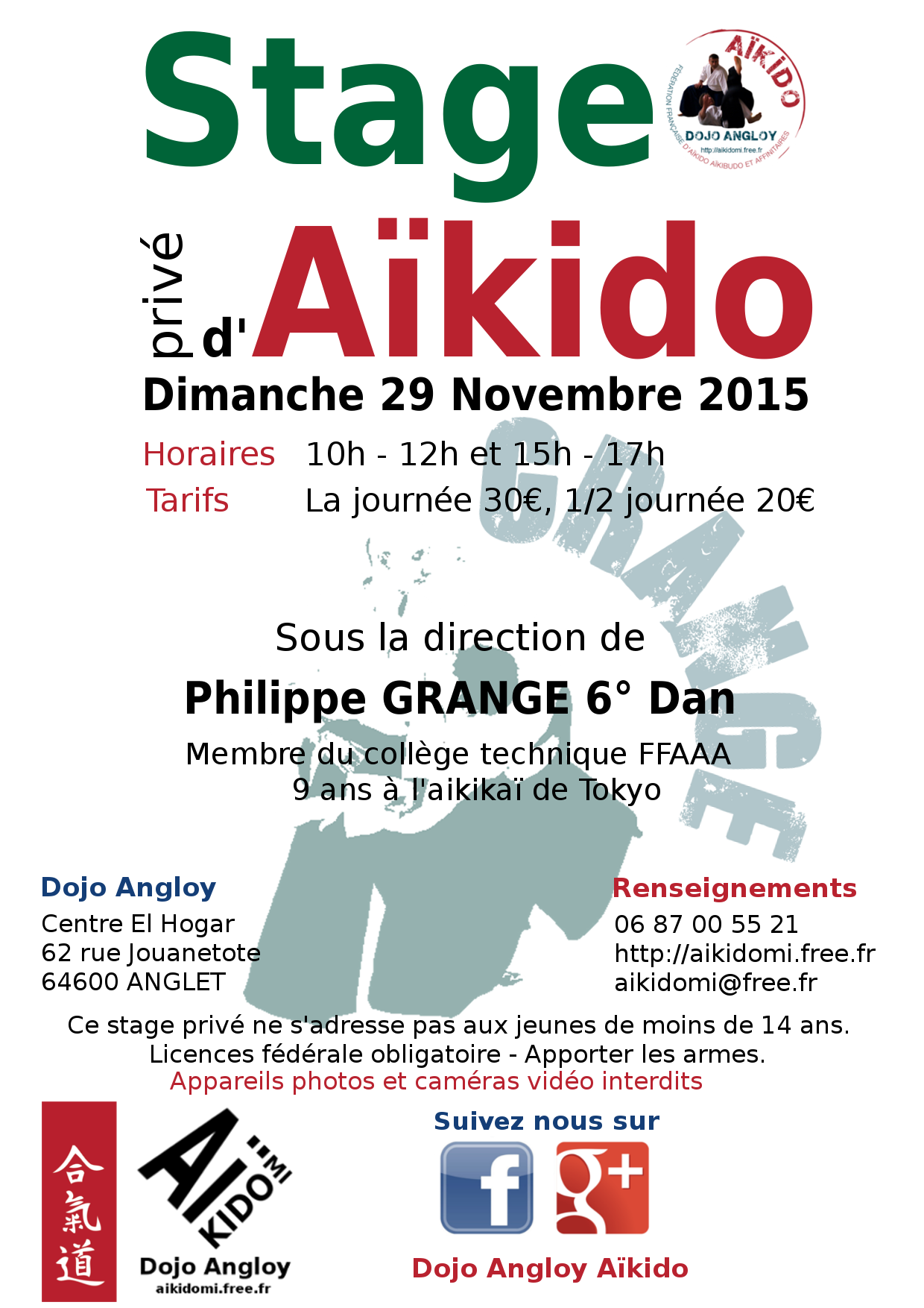 stage d 39 a kido anim par philippe grang dimanche 29 novembre 2015 anglet 64600. Black Bedroom Furniture Sets. Home Design Ideas