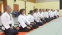 Photo Aikido Le salut